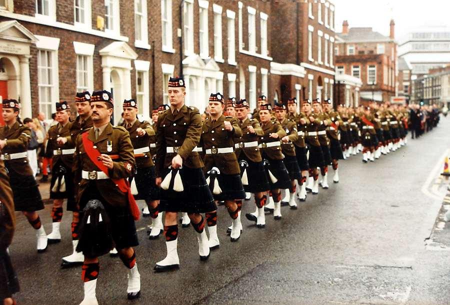 The Regimental Band Of The 1st Battalion - Highland Light Infantry The Glasgow Highlanders Highland Light Infantry
